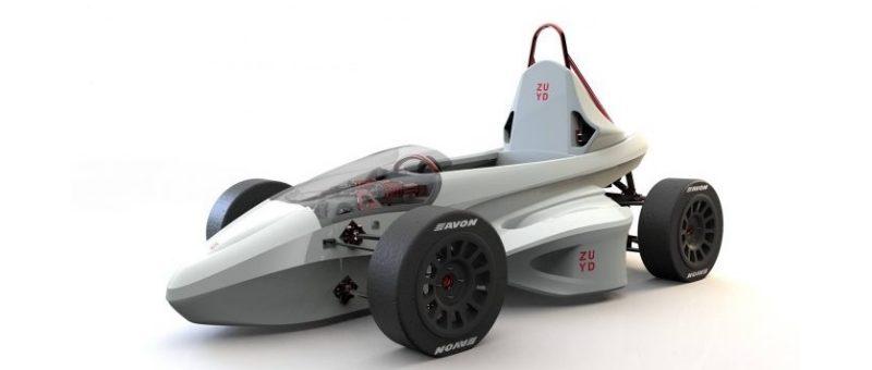 Sailer maakt onderdelen voor FUZE-raceauto